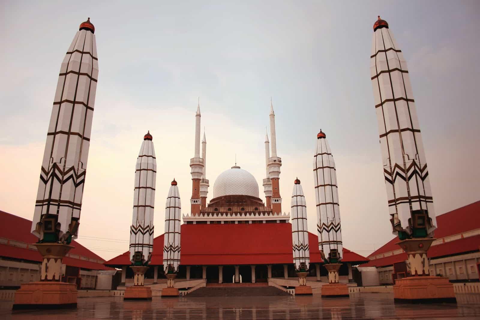 Kubah Masjid Agung Jawa Tengah