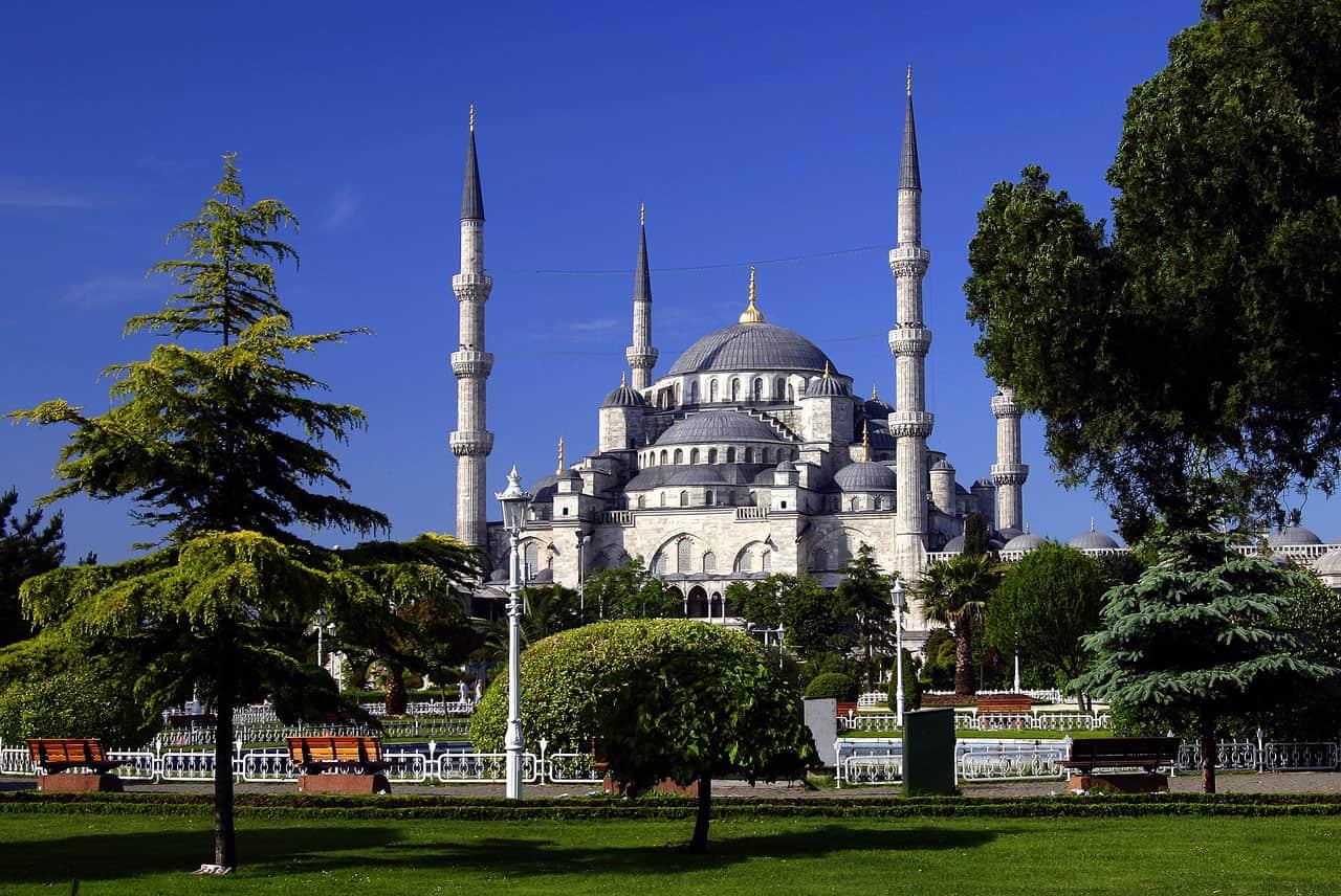 Masjid Sultan Ahmet Camii, Istanbul, Turki