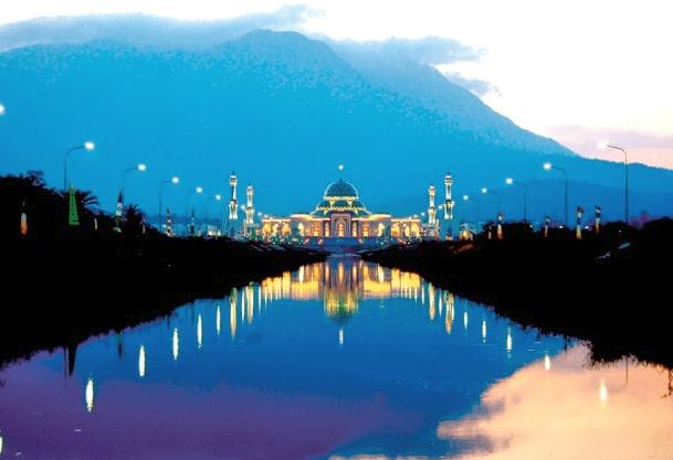 Keindahan Kubah Tingkat Masjid Raya Natuna Adalah Taj Mahal Nya Indonesia