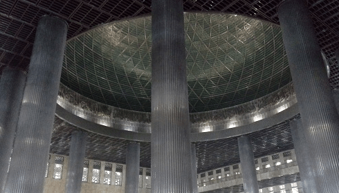 Masjid Istiqlal Jakarta Dan Kemegahan Kubah Masjidnya