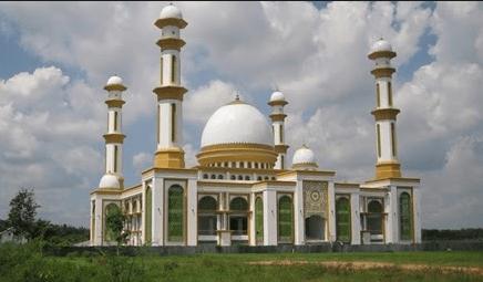 Masjid Agung H. Ahmad Bakrie Kisaran kab. Asahan