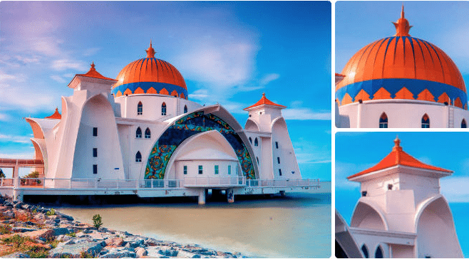 Wisata Religi Ke Masjid Terapung Melaka Malaysia