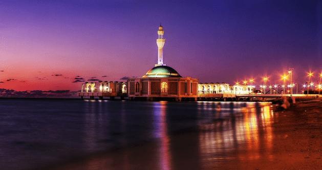 Masjid terapung Arrahmah kota Jeddah
