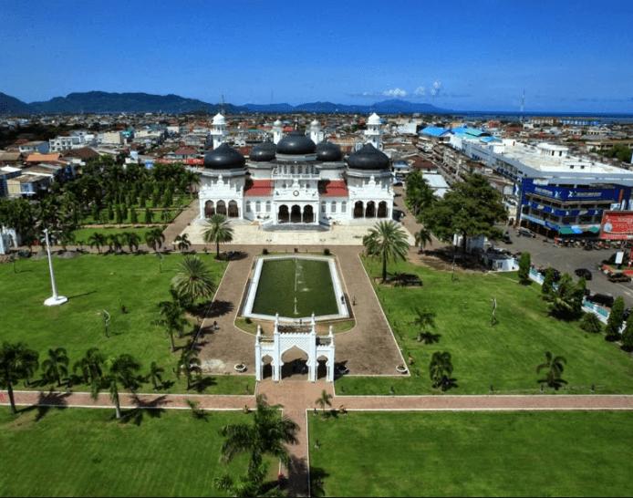 Masjid Raya Baiturrahman Aceh Masjid Indah Saksi Bisu Sejarah