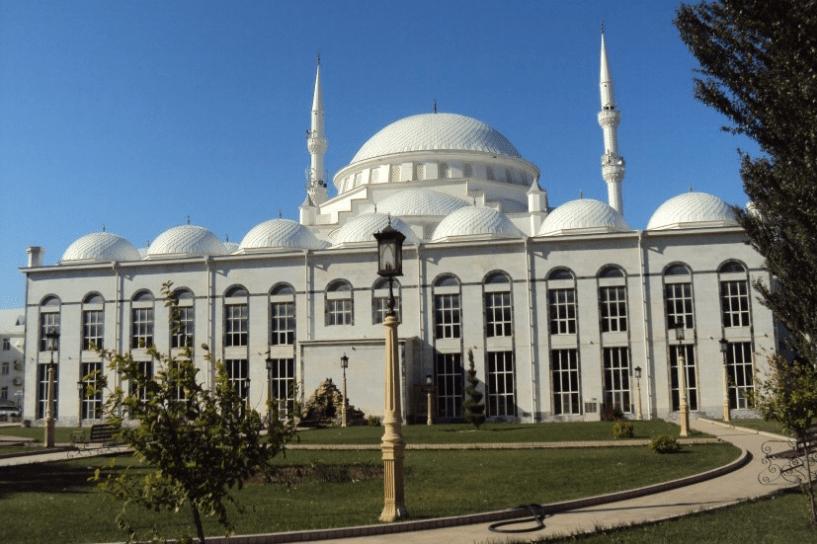 Masjid Agung Makhachkala Dagestan Rusia