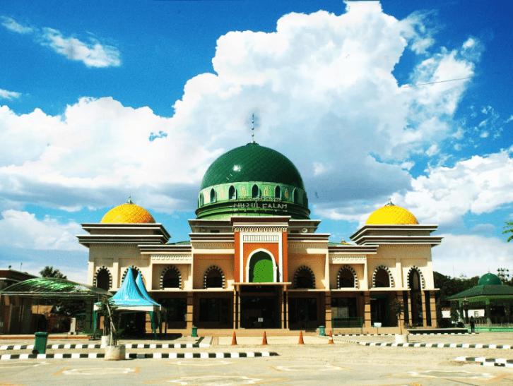 Masjid Terunik Nurul Falah Rantau Kabupaten Tapin