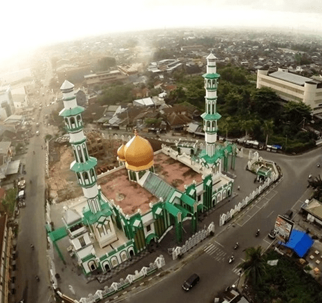 Masjid Raya Singkawang Kalimantan Barat