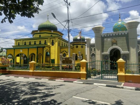 Bangunan Masjid Raya Syahabuddin Siak Sri Indrapura
