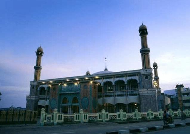 Masjid Agung Al Huda di Tembilahan