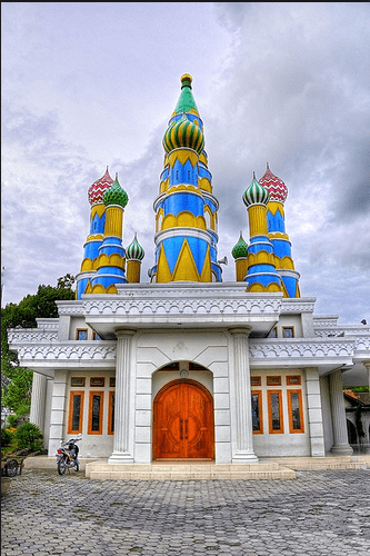 Masjid Permen An Nurumi Yogyakarta