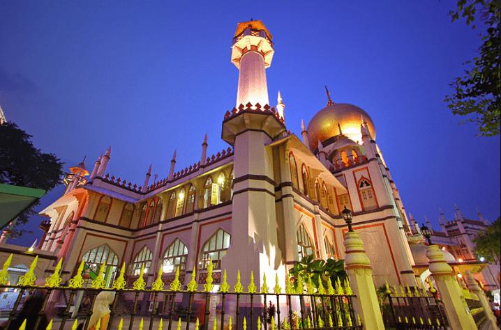Bangunan Masjid Raya Singapura