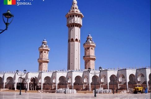 Masjid Agung Touba.