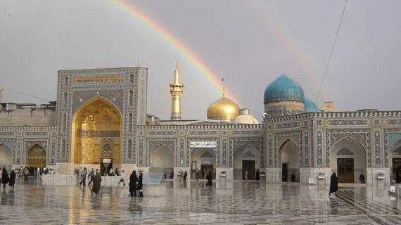 Masjid Imam Reza di Iran