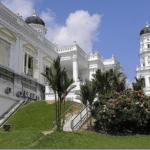 Masjid Jami' Sultan Abu Bakar Johor Bahru, Malaysia