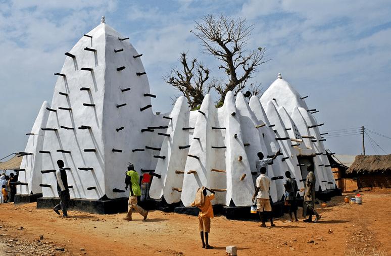 Masjid Larabanga di Ghana