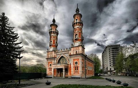 Masjid Mukhtarov di Vladikavkaz