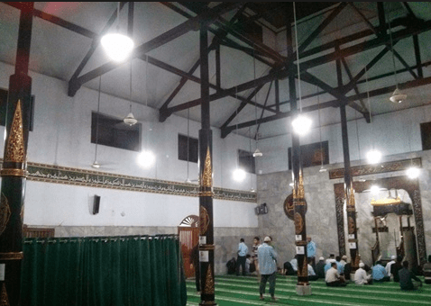 interior Masjid At Taibin