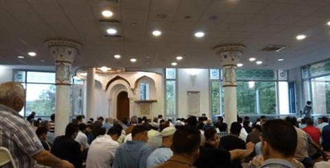 interior Masjid Budapest