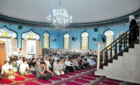 interior Masjid Cuiaba