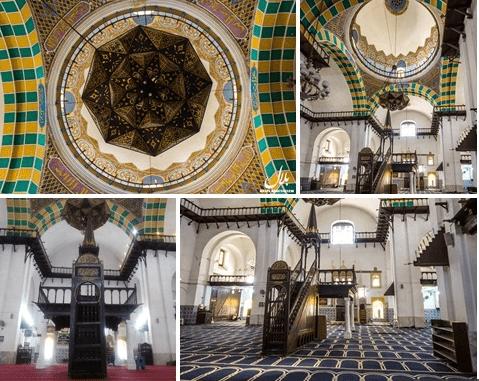 interior Masjid Djama'a al-Djedid