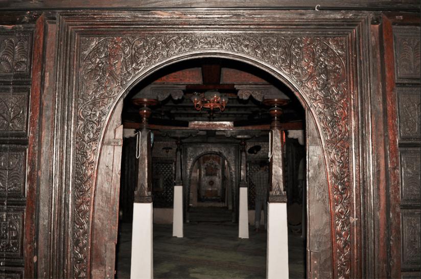 interior Masjid Hukuru Miskiiy