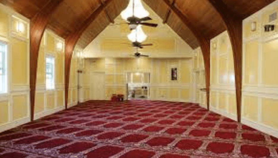 interior Masjid Islamic Center Santa Ana