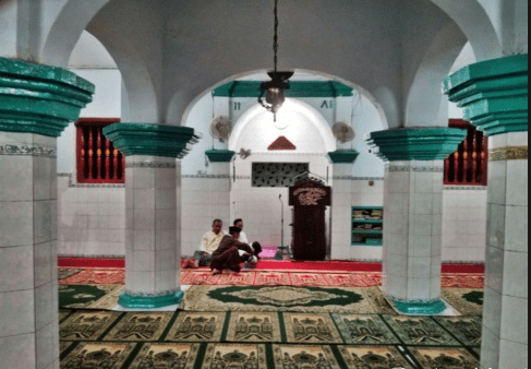 interior Masjid Jami Tambora