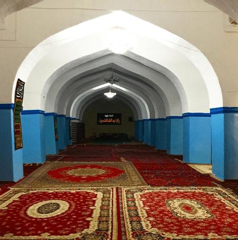 interior Masjid Juma Derbent