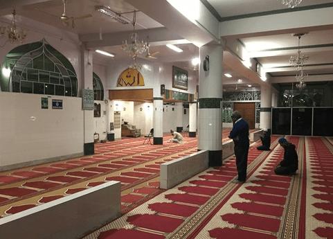interior Masjid Kaca Laban