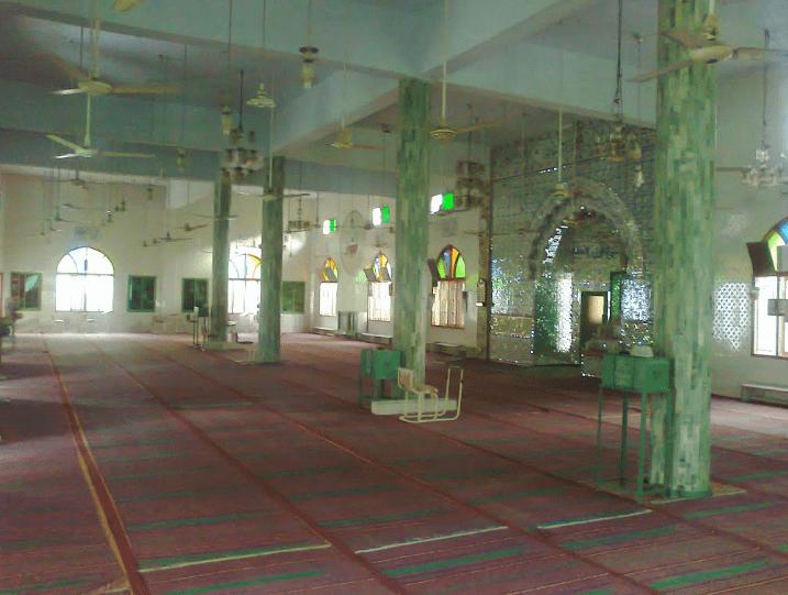 interior Masjid Madni