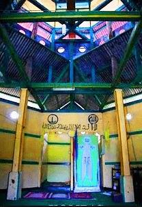 interior Masjid Patimburak