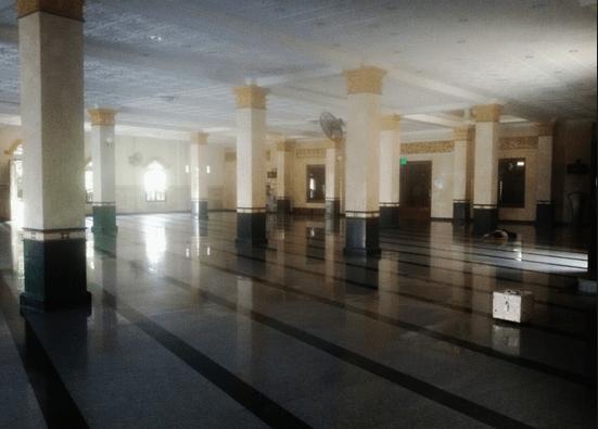 interior masjid agung brebes