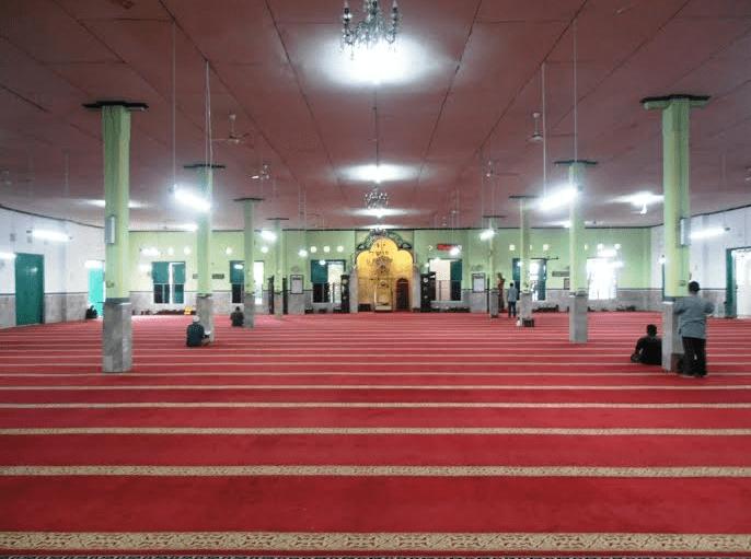 interior masjid al makmur