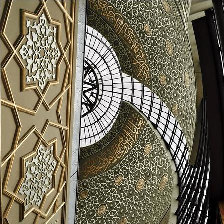 interior masjid central cologne