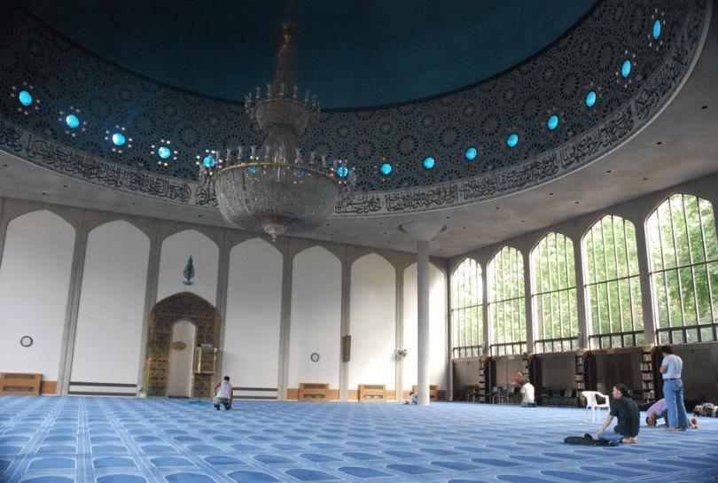 interior masjid central london
