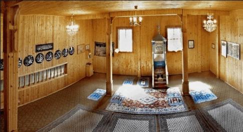 interior masjid forty tatar
