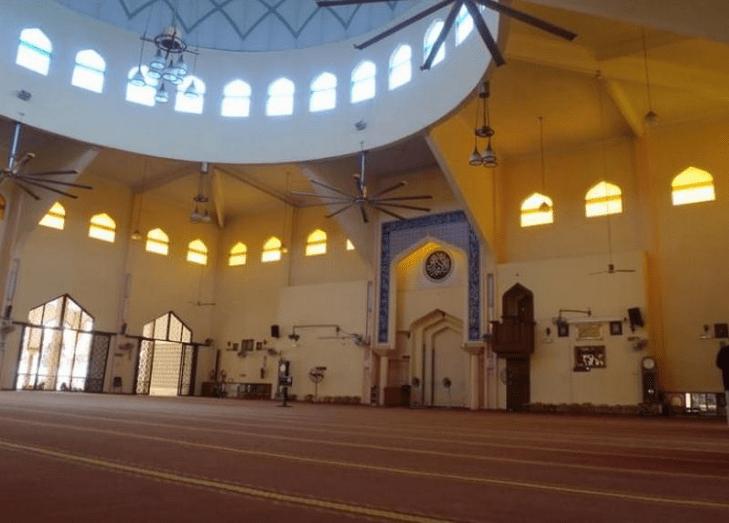 interior masjid haji abdul rahman