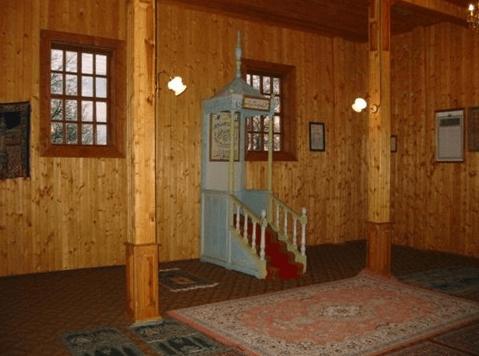 interior masjid lemezis lithuania