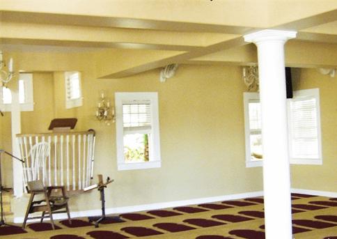 interior masjid manoa hawaii