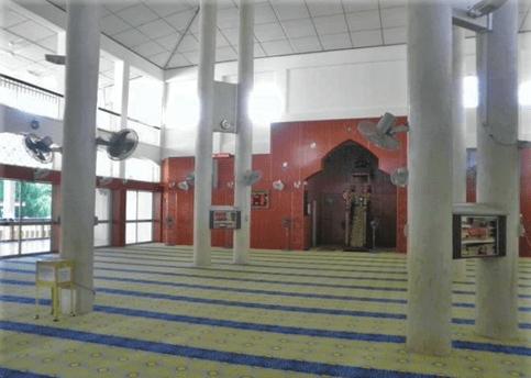 interior masjid negeri arau