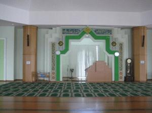 interior masjid nurul iman