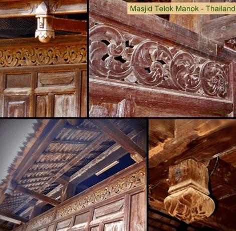 interior masjid telok manok
