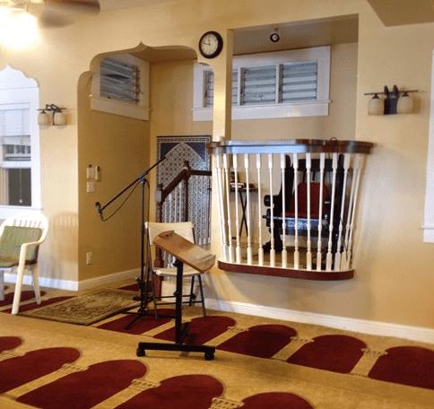 keserdehanaan interior masjid monoa