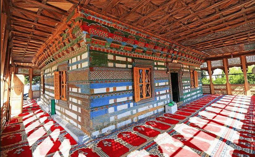 keunikan di masjid chaqchan pakistan