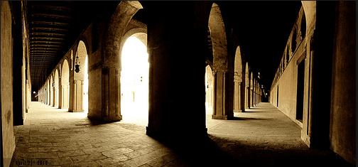 lorong di masjid ibnu tulun