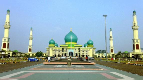 Masjid Agung An Nur di Riau