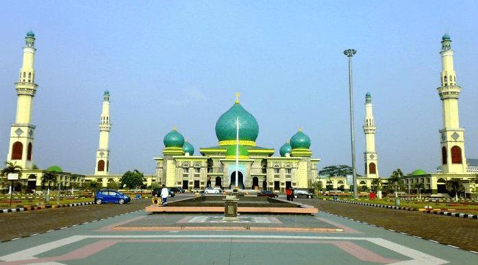 masjid agung annur riau-pekan baru