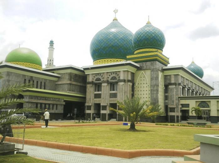 masjid agung annur riau