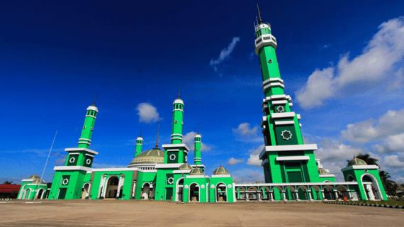 Masjid Agung Baitul Hikmah, Tanjung Redep