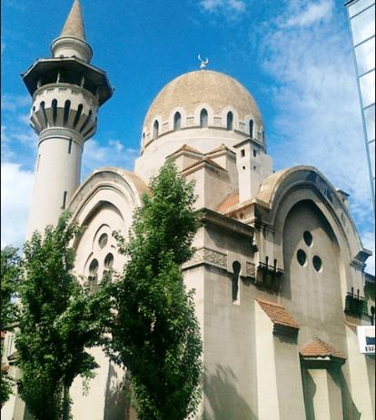 masjid agung rumania